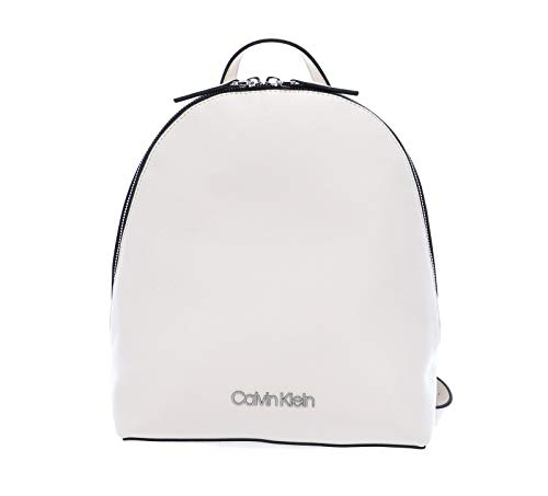 Calvin Klein CK Must, Mochilas para Mujer, Arena Blanqueada, OS