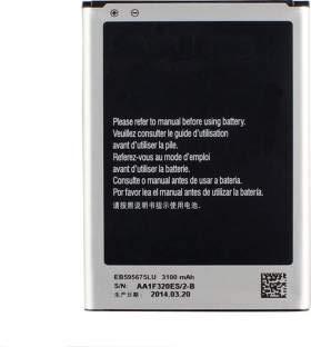 EB595675LU compatible Batterie pour Samsung Galaxy Note II 2 GT-N7100 ~haute capacité de remplacement de batterie longue durée 3100 mAh 3100mAh