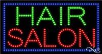 """Hair Salon LEDビジネスSign 17""""高X 32"""" x 1""""深い"""