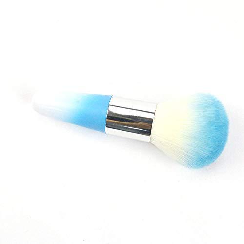 Brosse de maquillage en plastique à barre courte en plastique