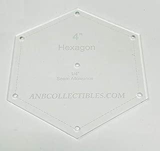 Best 2.5 hexagon template Reviews