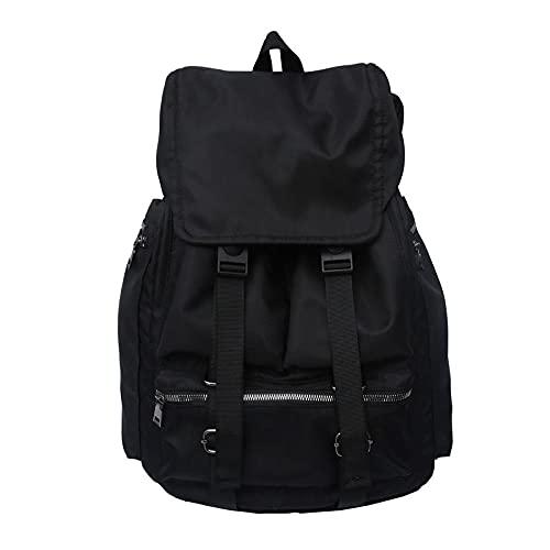 Travel Laptop Backpack, Mochila de estudante universitária de viagens - preta,Classical Travel Backpack