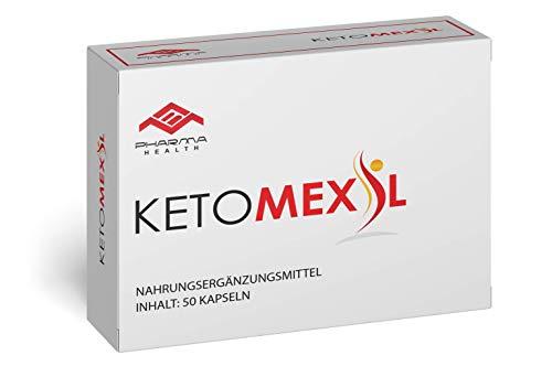 Ketomexil | Abnehmen | Stoffwechsel | Garcinia Cambogia | Vegan | schnell | 50 Kapseln