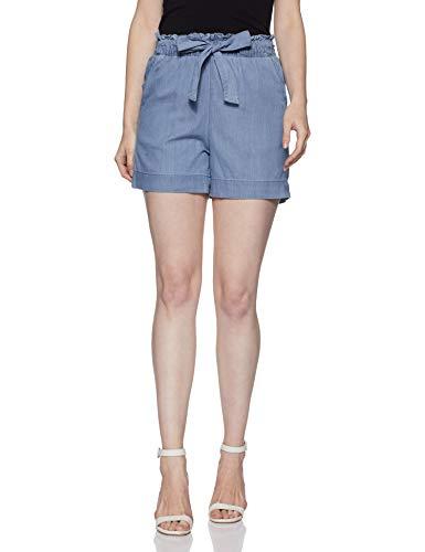 VERO MODA Women's Shorts (199332401_Light Blue Denim_M)