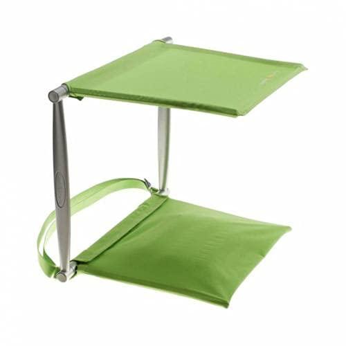 jjh Silla plegable Sombra acolchada Silla de Playa Portatil de Playa-Paraguas Billed, sillas plegables para exterior