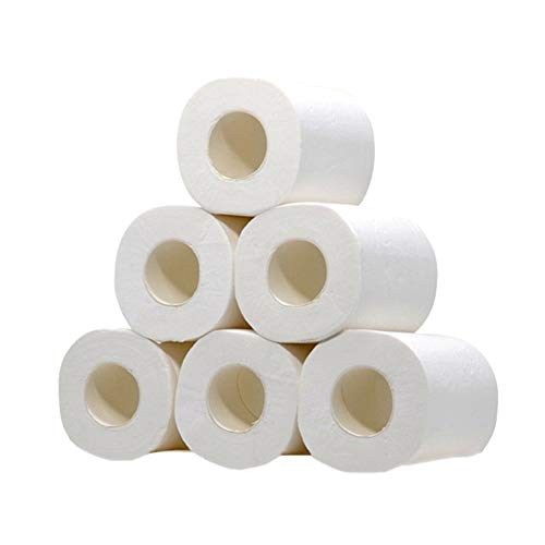 Papieren Handdoeken Toiletpapier Gerecycled Toiletpapier Wc Rollen Bulk Toiletpapier Roll Eco Vriendelijke Toiletpapier Mini Jumbo Toiletrollen 6rolls