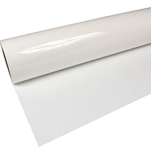 Rapid Teck®, flex-folie, beugelfolie, premium poli PU-folie, 1 m x 0,5 m, 1 m x 0,5 m 0,5m x 1m 601, wit.