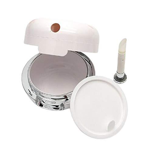 CUTICATE 13g Pots Cosmétiques Container Vide Rond en Plastique Contenant pour Baume à Lèvres,Rouge à Lèvres, Crème, Lotion