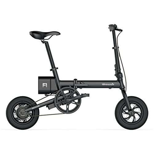 ZXQZ Bicicleta de Ciudad Eléctrica, Travel 12'e-Bike, Motor de Alta Potencia 36V 5.2AH Batería de Litio City Ebike, para Hombres, Mujeres, Niños