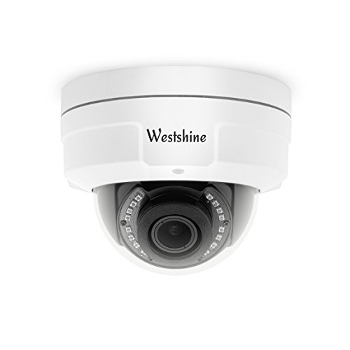 Westshine Security CCTV-Dome-Kamera 1080P 2.8-12mm Varifokus-Objektiv Vandalensichere Dome-Kamera 4-in-1 AHD/TVI/CVI/CVBS-Kamera Nachtsicht Home Indoor Outdoor-Kameras