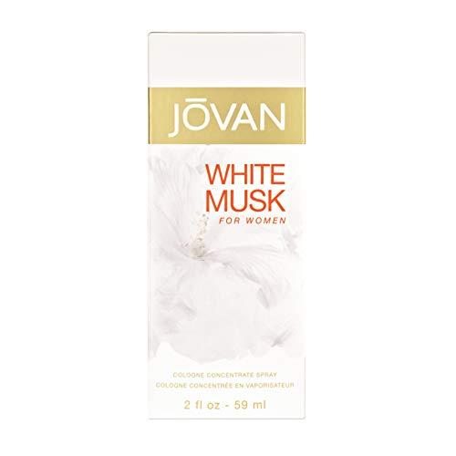 Jovan White Musk Eau de Cologne Spray für Damen, 59 ml