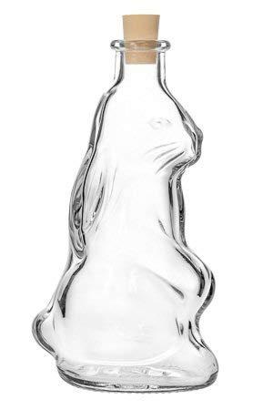 Osterhasenflasche leer 200ml zum befüllen mit Spirituosen I Essig I Öle und mehr