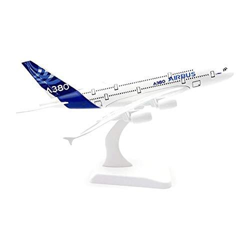 Modell Flugzeug Spielflugzeug Modellflugzeug Druckguss Fähigkeiten mit Standfuß Realistische Miniatur 1: 200, 18CM, Geschenk oder Deko, Sammlerstück