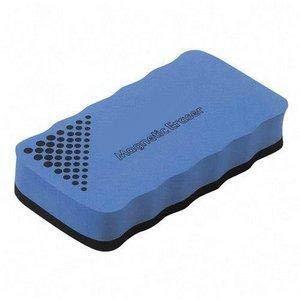 Techly 309319 Cancellino Magnetico per Lavagna Colore Blu Blu