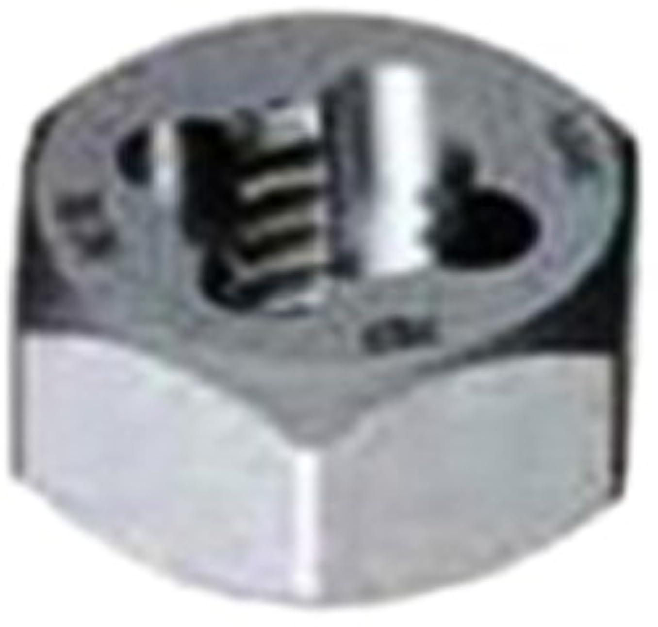 Gyros 92-91032 Carbon Steel Hex Rethreading Die, 10-32 TPI