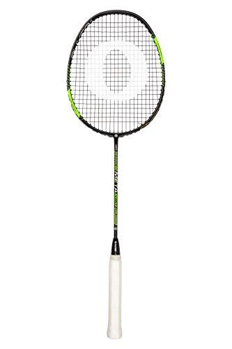 Oliver Badmintonschläger Meta X90 / Badminton Racket aus Carbon in schwarz-grün, ideal für Einsteiger & Hobbyspieler