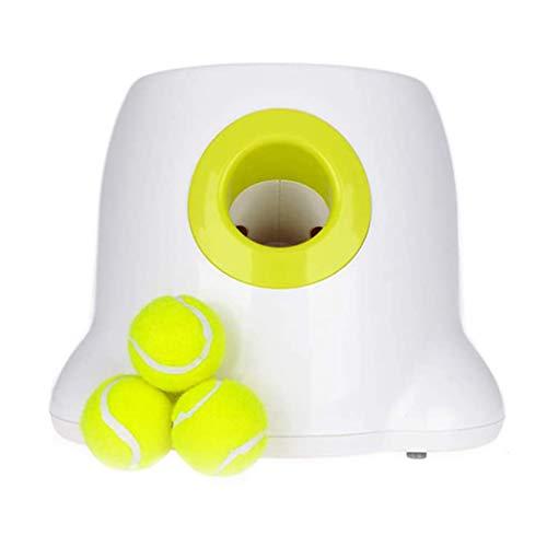 XIYEE Haustier IQ Training, Tennis Ball Launcher Wurfmaschine, Für Interactives Hyper Mini Werfen Hundespielzeug, Automatische Haustier Ball Launcher