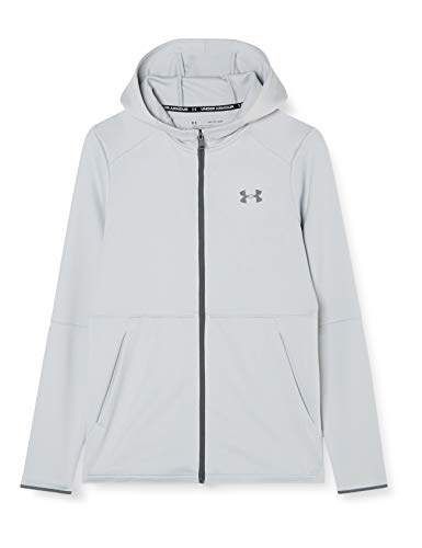 Under Armour Mk1 Warmup Full-zip Hoodie, Mod Gray (011)/Pitch Gray, X-Large
