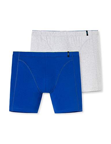 Schiesser Herren Multipack 95/5 Cyclist (2er Pack) Boxershorts, Mehrfarbig (Sortiert 1 901), Large (Herstellergröße: 006)