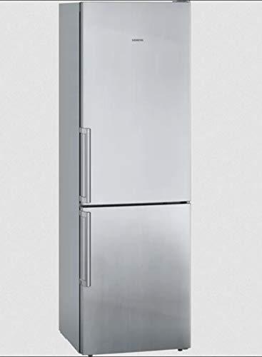 Siemens KG36E8ICP | iQ500 freistehende Kombi-Kombination mit Gefrierfach unten 186 x 60 cm Edelstahl easyclean
