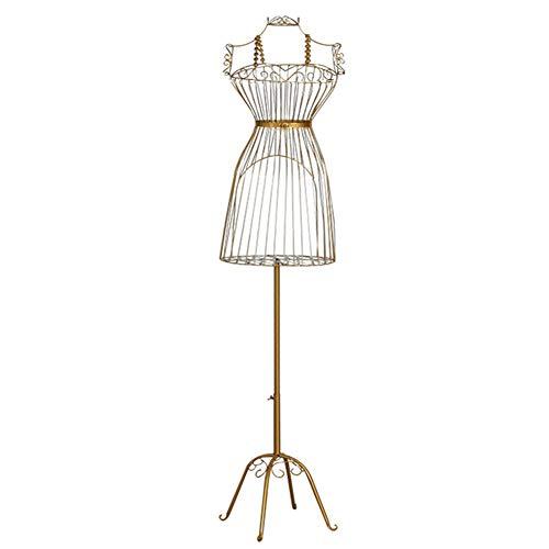 baratos y buenos Alambre de modista de costura de maniquí ZAQI, forma de busto de vestido de maniquí femenino hecho de cuerpo … calidad