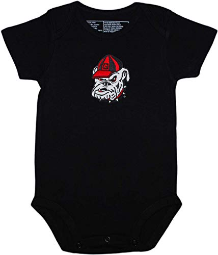 Georgia Newborn Baby Clothes, Bulldog, Boy and Girl College Bodysuit