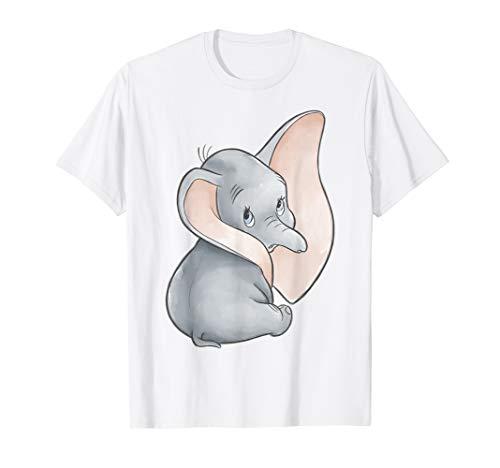 Disney Dumbo Classic Big Ears Cute Portrait T-Shirt