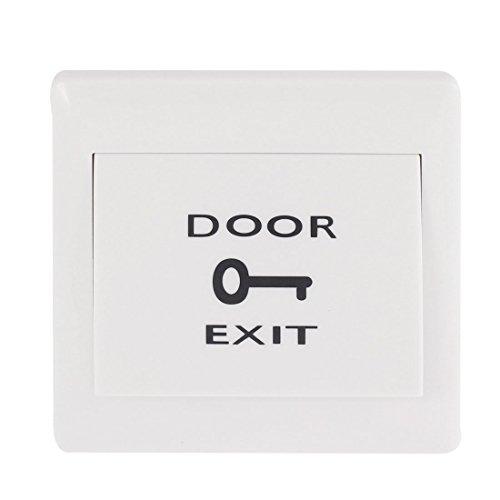 Aexit Tür elektrische Zugangskontrolle Ausgang Drucktaste Schalter Weiß (aba42ee57169de6241b2ee3f4dc51265)