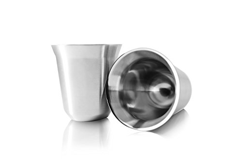 Tombert Stainless Steel Espresso Cups