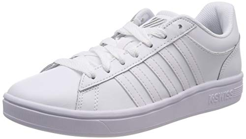 K-Swiss Damen Court Winston Sneaker, Weiß (White/White/White 154), 37.5 EU