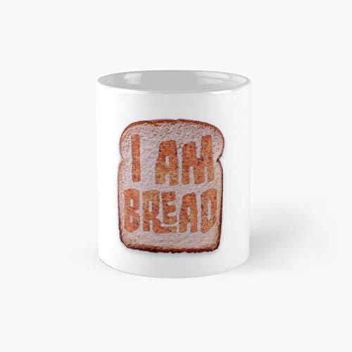 I Am Bread Mug - Official Merchandise Classic Mug Best Gift Funny Coffee Mugs 11 Oz