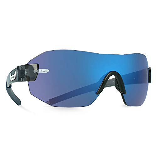 Gloryfy unbreakable eyewear (G11 Radical blue) - Unzerbrechliche Sonnenbrille, Sport, Rahmenlos, Damen, Herren, Grau-Blau