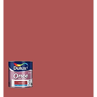 Dulux Once Matt Paint for Walls, 2.5 L - Roasted Red