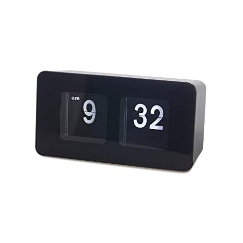 Balvi Reloj sobremesa Flip Clock Color Negro Posiblidad de C