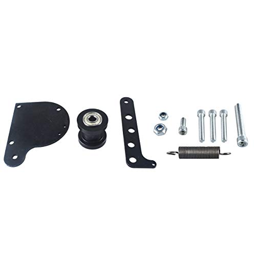 JRL Black Spring Loaded Chain tensioner for 49cc 66cc 80cc Engine Motor Kit Motorized Bike Bicycle Well Made