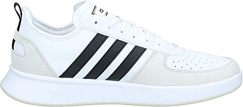 adidas Performance Court 80S Sneaker Herren Weiss/schwarz, 11.5 UK - 46 2/3 EU - 12 US