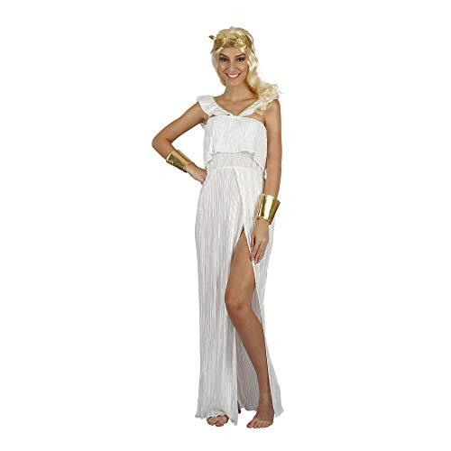 Bristol Novelty - Disfraz de Diosa para Chica Mujer (Tamao nico) (Blanco/Dorado)
