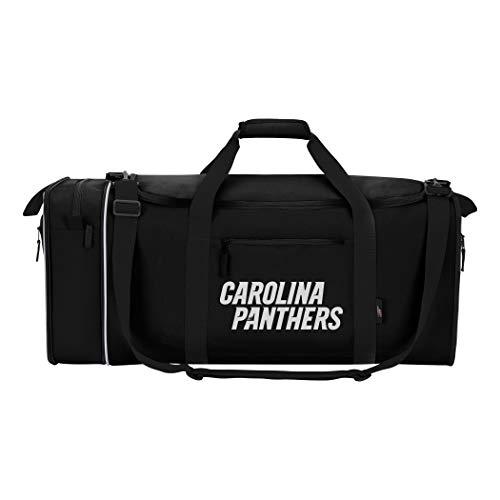 """NFL Carolina Panthers """"Steal"""" Duffel, 28"""" x 11"""" x 12"""""""