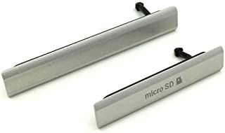 Hedywei Tapa de USB/SIM/SD Para Sony Xperia Z2 D6502 D6503 D6543 Cubierta antipolvo (Blanco)