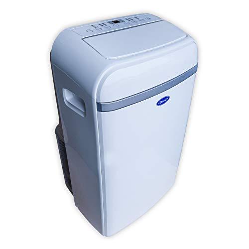Condizionatore d'aria portatile 3,5 kW freddo e calore con telecomando, ultra silenzioso | Design compatto e facile installazione con classe A efficienza energetica