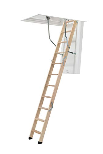 Dolle ClickFix 76 - Escalera plegable (1150 x 550 mm)