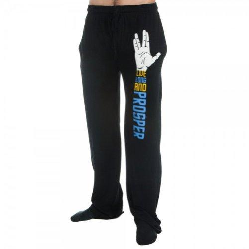 Bioworld Star Trek Logo Lounge Pants