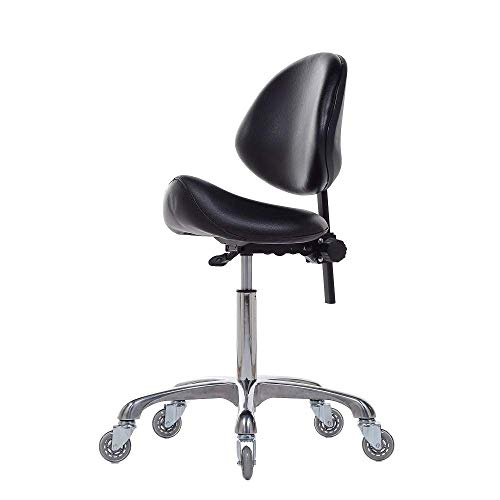 FRNIAMC Adjustable Saddle Chair