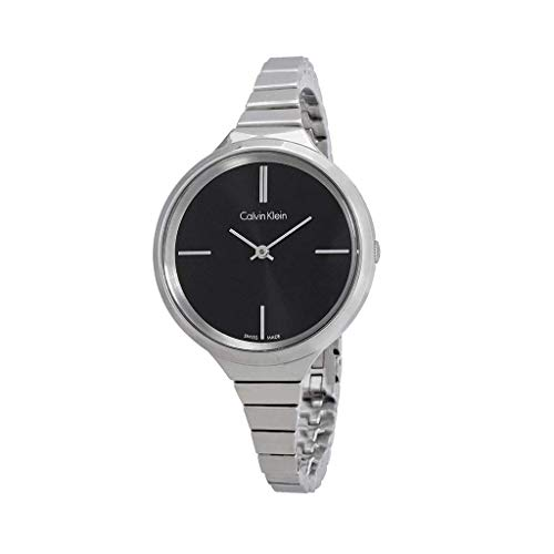 CALVIN KLEIN K4U23121 Reloj Sra. ESFRA Negra Brazalete DE Acero
