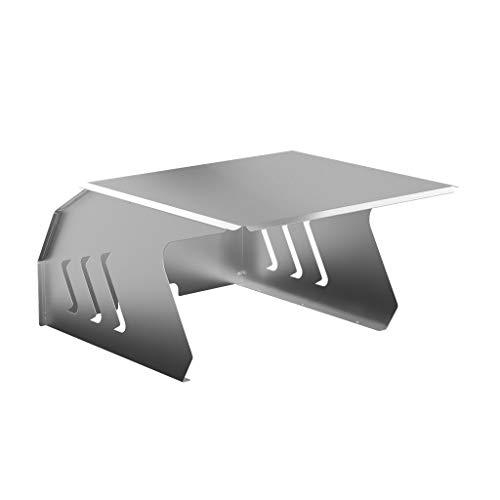 KÖNIGSPROD Edelstahl Mähroboter Garage, Schutz für Automower, Rasenroboter Dach, Carport, Roboport Deluxe, XL