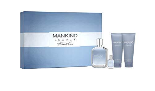 Kenneth Cole Kenneth Cole Mankind Legacy 4 pc Gift Set, 3.4 Fl Oz