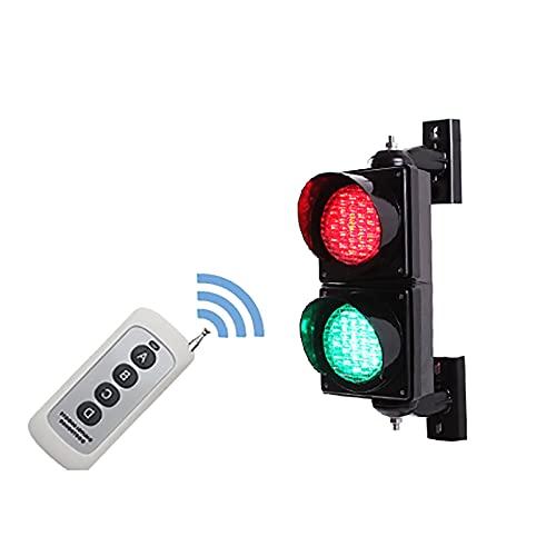 QDF Industrial LED Traffic Light 4 inch Diameter Lens, PC Housing Waterproof IP65, for Dock Bay Indicator Warning Light