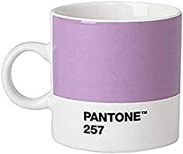 Copenhagen Design Pantone Espresso, Small Coffee Cup, fine China (Ceramic), 120 ml, Light Purple, 257 C, us:one Size
