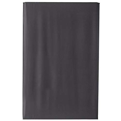 Gowind6 Grijze zilveren ster verduisteringsgordijnen voor kinderkamer - zelfklevende thermische geïsoleerde kamer verduisterend bedrukte gordijnen voor woonkamer, 1 panelen