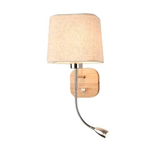 QNDDDD Lámpara de Pared Vintage Lámpara de Pared Minimalista Moderna Tv Creativa Iluminación de Sala de Estar Lámpara de Noche para Dormitorio Luces de Pared Nórdicas con Luces de Interruptor,D
